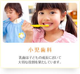小児歯科 乳歯は子どもの成長において大切な役割を果たしています。